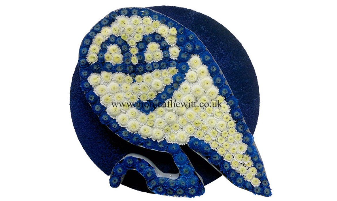 SWFC Owl Funeral Flowers