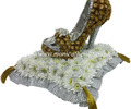 High Heel Shoe Funeral Flowers