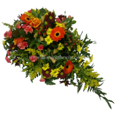 Autumn Shades Funeral Arrangement