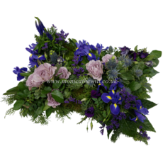 Pillow Arrangement - Purple & Blue