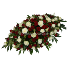 Love & Respect Casket Arrangement