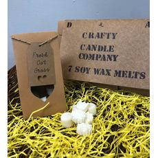 Soy Wax Melts in a craft bag
