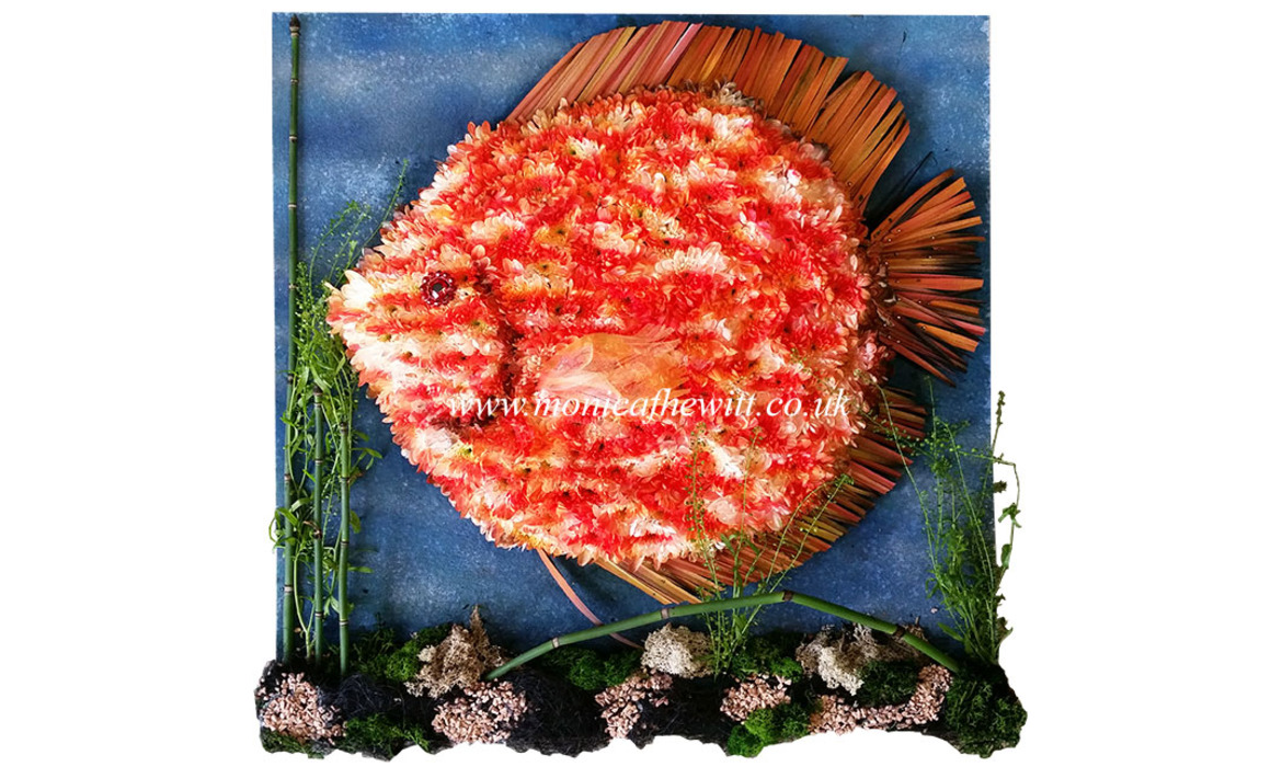 Discus Fish Funeral Flowers