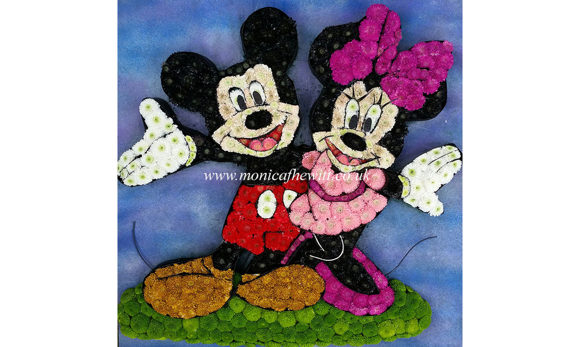 Mickey Minnie Mouse Funeral Flowers