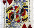 King Of Hearts Playing Card Funeral Flowers